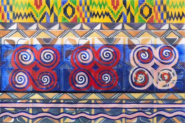 , 'Ghanaian, Malian, and Nigerian-American 1,' 2018, 440 Gallery