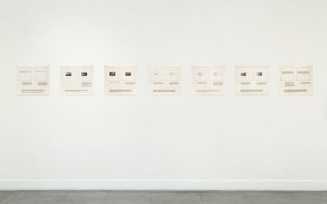 , 'Texts,' 1977, Richard Saltoun
