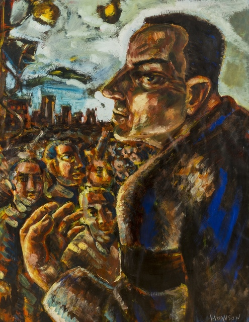 Peter Howson, 'The Unionist', Forum Auctions