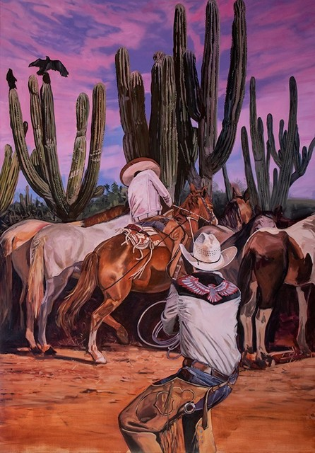 Tracy Stuckey, 'Lasso', 2020, Painting, Oil on canvas, Visions West Contemporary