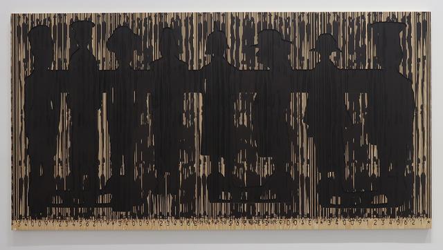 , 'Code Noir 1,' 2018, Richard Taittinger Gallery