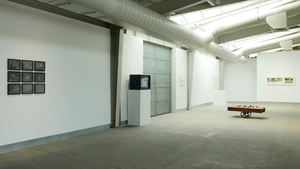 Installation view of Equilibrium: A Paul Kos Survey. April 16 - October 2, 2016. di Rosa, Napa. Photo: J. Jones