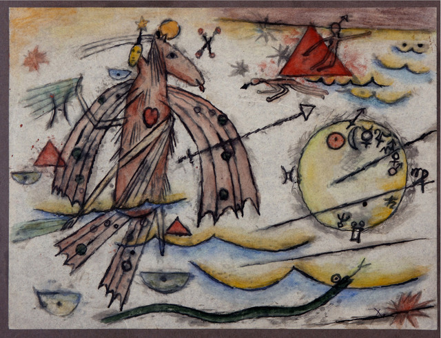 , 'Horóscopo de Xul Solar,' 1953, Galería Rubbers Internacional