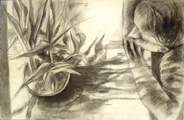 , 'Figure and Plant,' 1960, Cerulean Arts