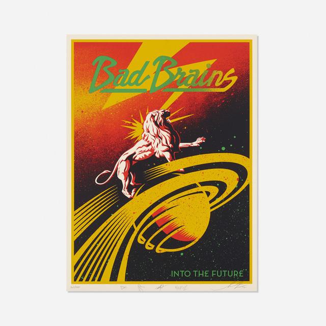 Shepard Fairey (OBEY), 'Bad Brains', 2012, Rago/Wright