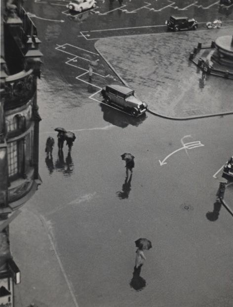Elisabeth Hase, 'Street from Above', 1931, Robert Mann Gallery