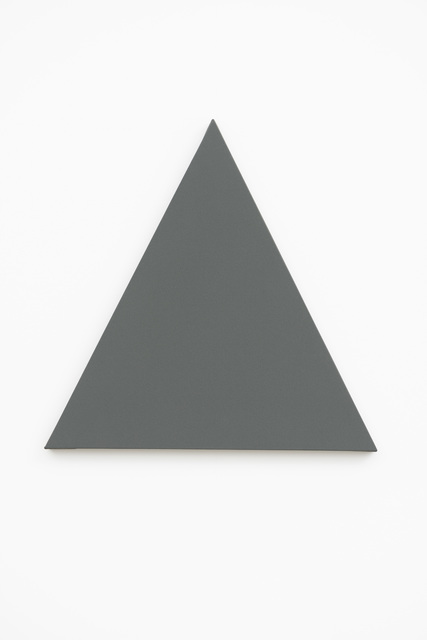 , 'Triangle Painting,' 2014, Slewe Gallery