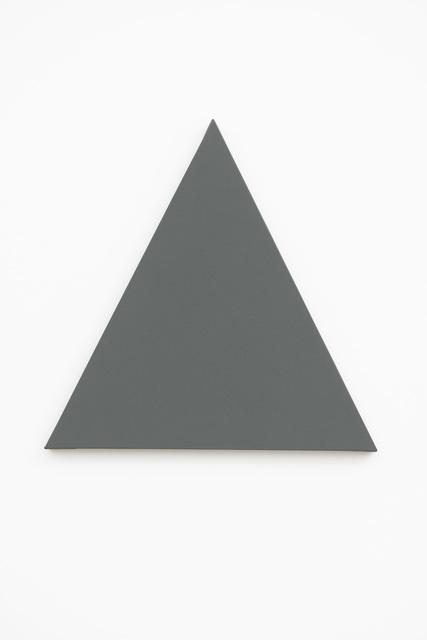 , 'Triangle Painting,' 2014, Slewe