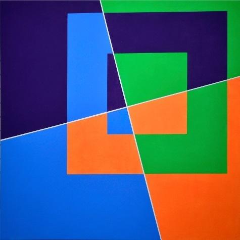 , 'b.l. 1.3.4.6., 75°,' 2007, Galerie 100 kubik