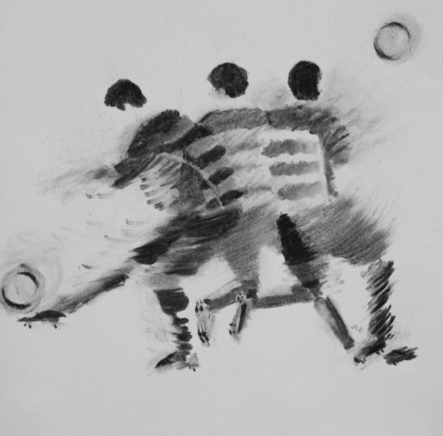 , ' A punto de (1),' 2018, Galeria Otros 360º