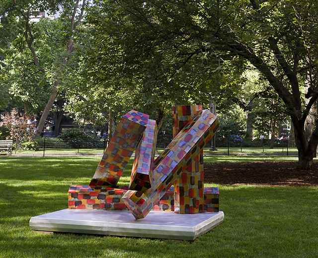 , 'Evening Assembly,' 2008, Madison Square Park