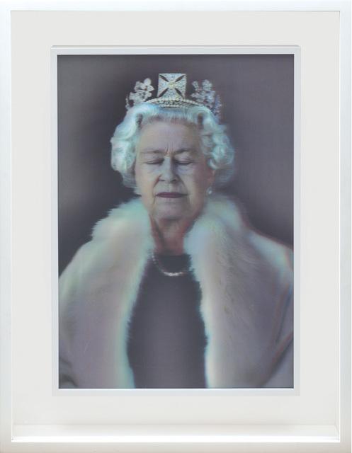 Chris Levine, 'Lightness of Being. [Queen Elizabeth II.]', 2009, Peter Harrington Gallery