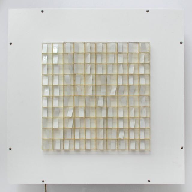 Hartmut Böhm, 'HF 9', 1965, Painting, Kinetisches Objekt, Plexiglas, Kunststoff, Magnet, PANARTE