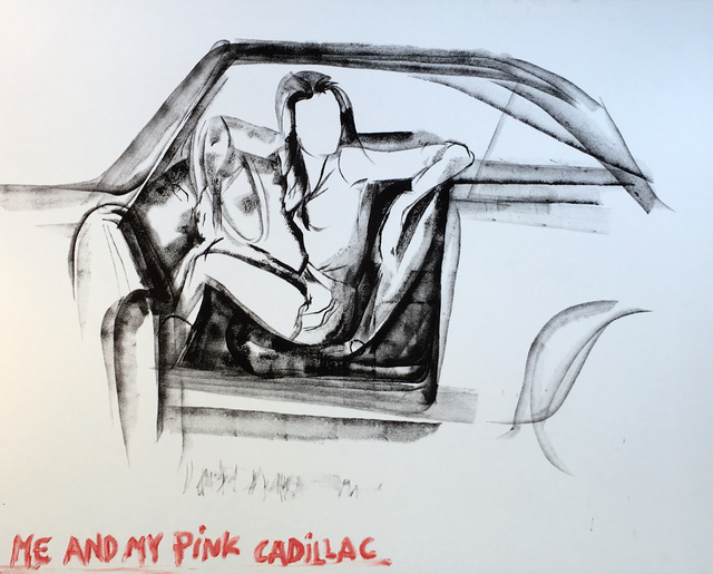 , 'Me and My Cadilac,' 2016, Zemack Contemporary Art