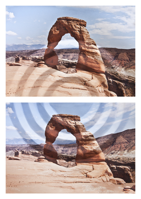 , 'Mountains + Valleys: Arches, Diptych,' 2013, George Eastman Museum