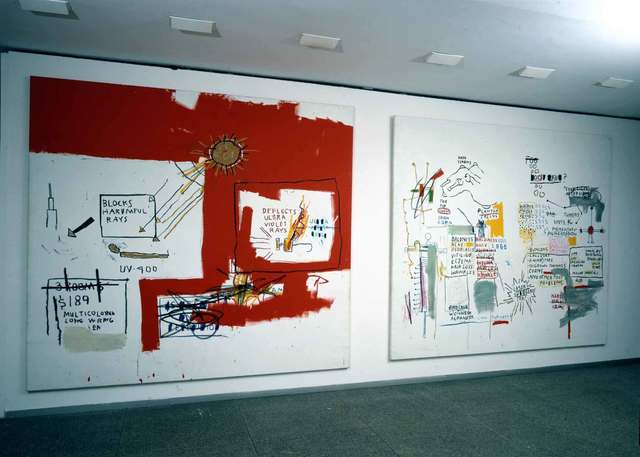 , 'Installation view,' 1988, Galerie Hans Mayer