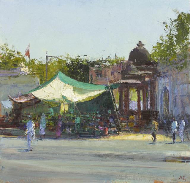 , 'Street Market near Mandore Gardens, Rajasthan,' 2017, John Martin Gallery