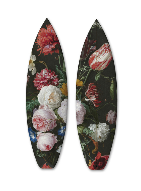 , 'FLOWERS DIPTYCH / 2 SURFBOARDS,' , ArtStar