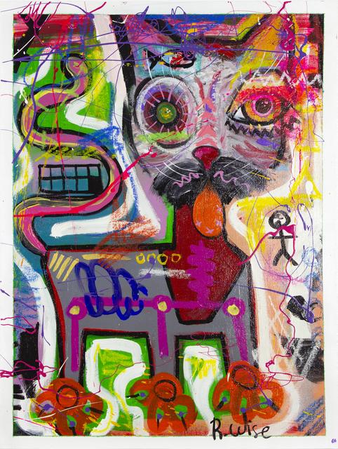 Rodrigo Wise, 'Con la lengua de fuera 10', Bernardini Art Gallery & Auction House