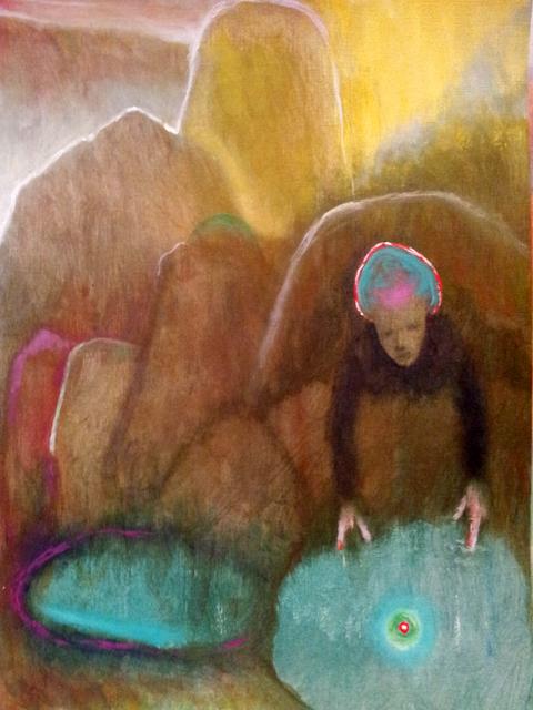 , 'Emerald Pool,' 2016, Jessica Carlisle