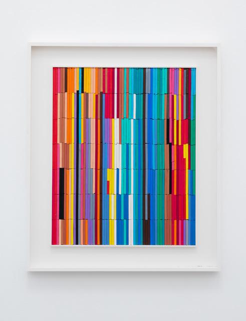 , 'Crayons 2,' 2016, Anat Ebgi