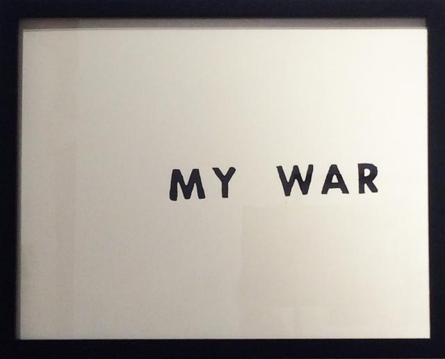 , 'My War,' 2016, MIYAKO YOSHINAGA