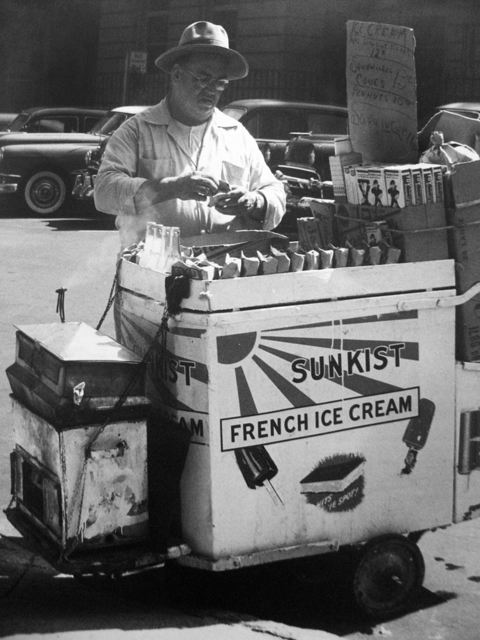 , 'Untitled (ice cream vendor),' 1958, PDNB Gallery