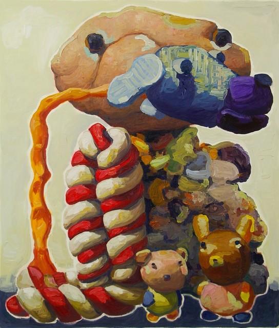 , 'Blue Dog  (#262),' 2014, Powen Gallery