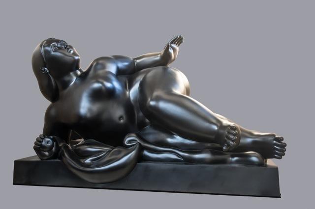 Fernando Botero, 'Reclined Woman', 2016, Sundaram Tagore Gallery