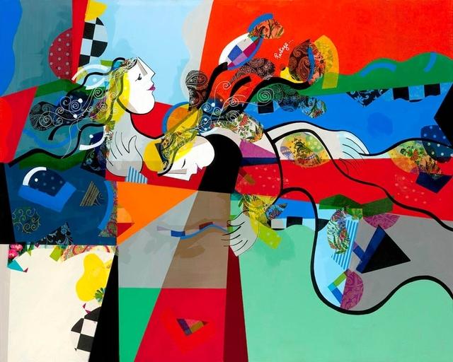 , 'Partage (Lacquer),' 2015, Eden Fine Art