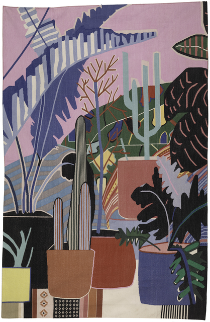 , 'Pink Room with Palm ,'  , JoAnne Artman Gallery