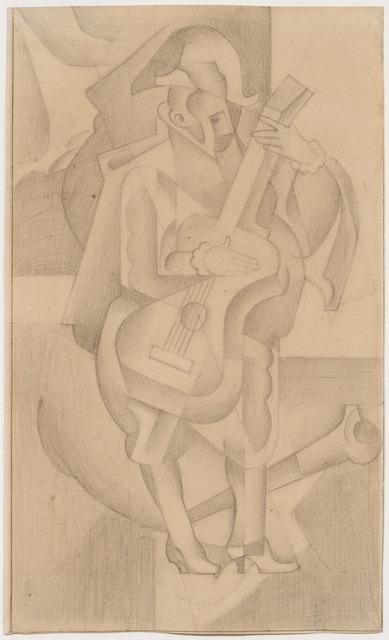Juan Gris, 'L'Homme à la guitare', 1918, DICKINSON