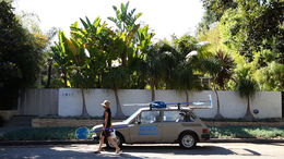 , 'Brasília, Cars, Pools and Other Modernities (still),' 2009-2013, Hammer Museum