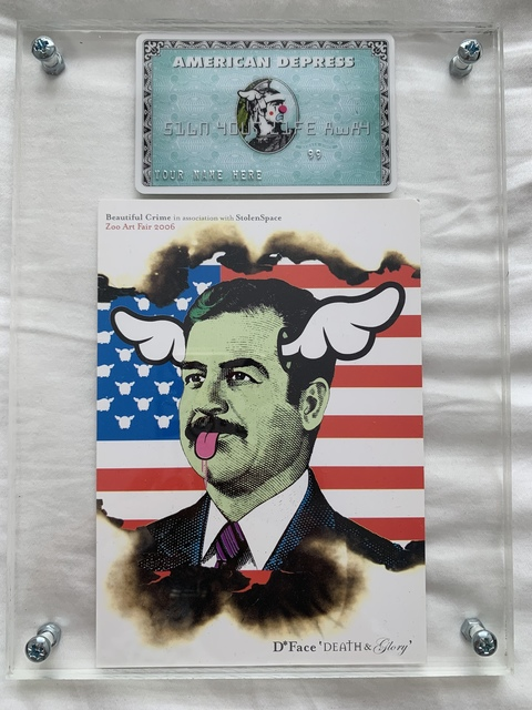 D*Face, 'D*FACE AMERICAN DEPRESS CARD & SADAMNED SHOW ART SET', 2008, Arts Limited