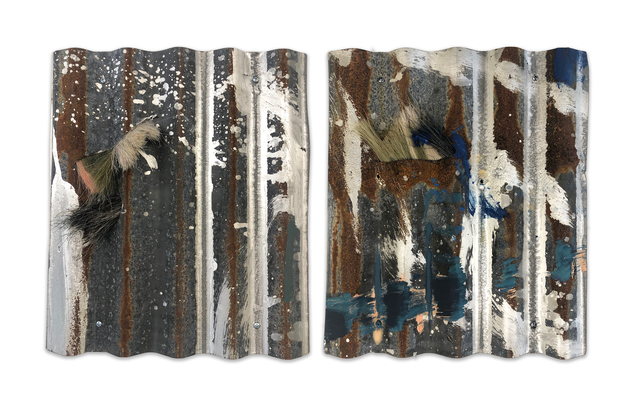 Rosy Keyser, 'Howls, Hinged', 2018/2019, Headlands Center for the Arts: Benefit Auction 2019