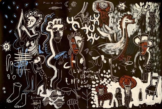 Gopal Dagnogo, 'Mythologie contemporaine n°6', 2019, OH GALLERY