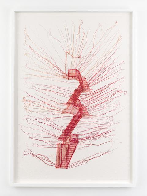 , 'Staircase,' 2017, Lehmann Maupin