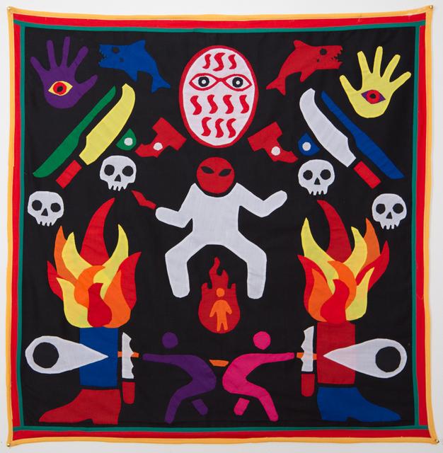 Emo de Medeiros, 'Surtenture #06 (...lest anger's white shadow conquers the fireman)', 2015, 50 Golborne