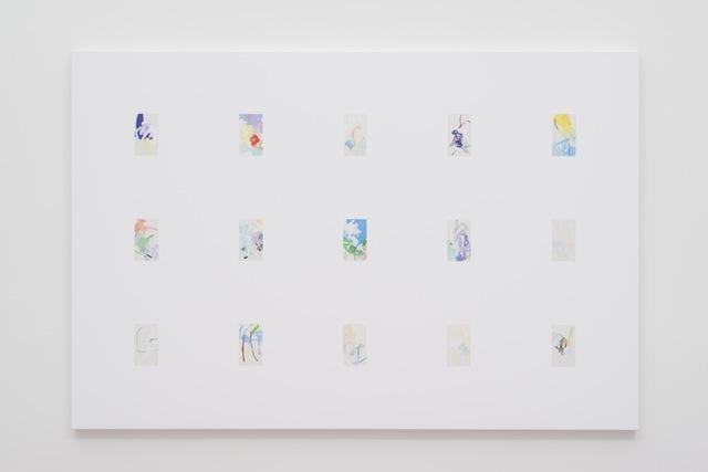 , 'iPhone Paintings 31 - 45 Third Quarter 2016,' 2017, Gavlak
