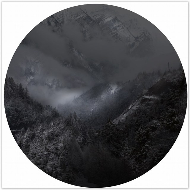 , 'Black Oculi,' 2016, Cerbera Gallery