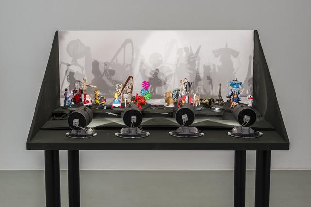 , 'Small Shadowplay,' 2015, Galerie Mehdi Chouakri