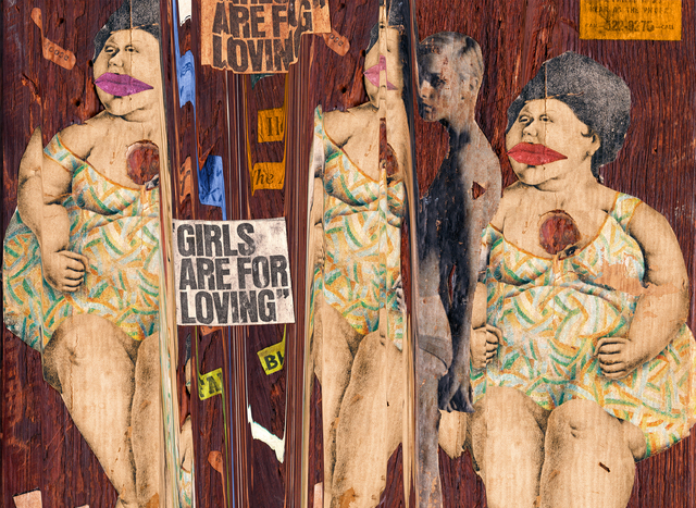 , 'Girls are for Loving,' 2017, Elizabeth Houston Gallery