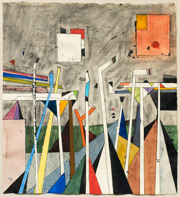 , 'Study for the Edge,' 1966, Allan Stone Projects