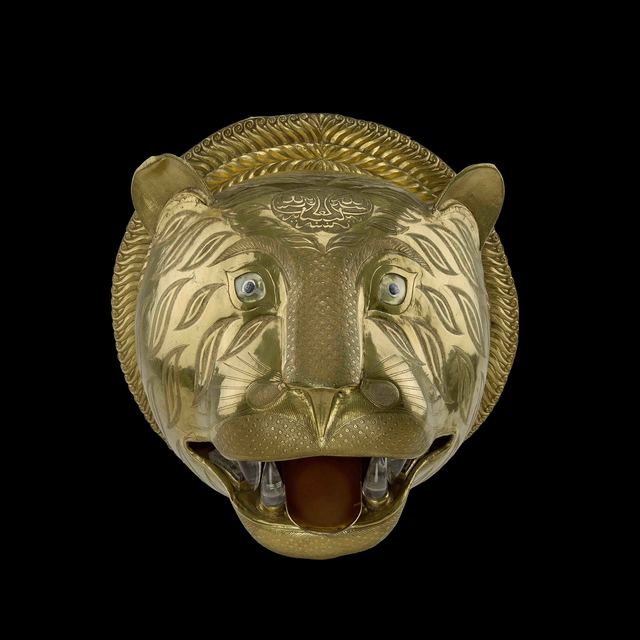 , 'Gold tiger's head,' 1785-1793, Royal Collection Trust