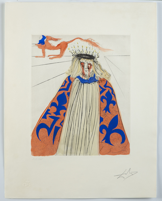 Salvador Dalí, 'Melpomene (Muse of Tragedy)', 1971, Modern Artifact