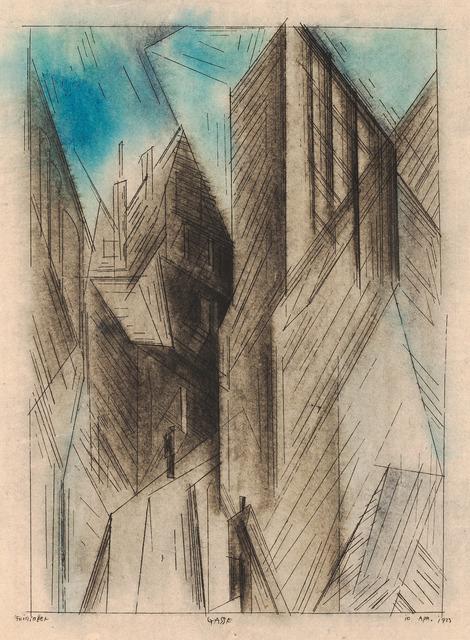 , 'Gasse,' 1923, Moeller Fine Art