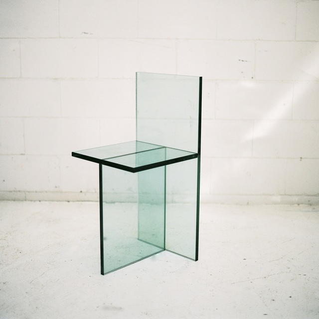 , 'Geometric Glass Chair,' 2016, Etage Projects
