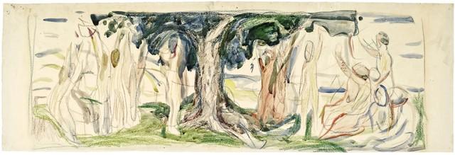 Edvard Munch, 'The Tree of Life', 1910, Galerie Thomas