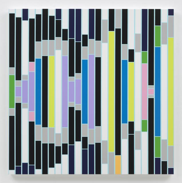 Sarah Morris, 'Culture Resounds [Sound Graph]', 2018, Galerie Meyer Kainer
