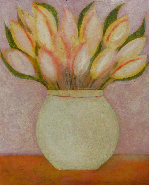 , 'Spring Tulips,' 2018, Thackeray Gallery